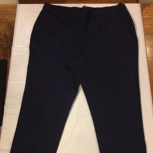 MODCLOTH Navy Pleated Dressy Pants 2X